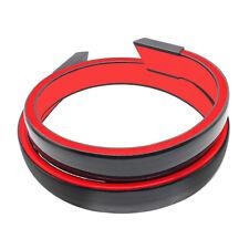 Led Light Spoiler Lip Sticker 120cm Gloss Black Fit For Car Rear Trunk Tail Wing Fits Saturn Aura