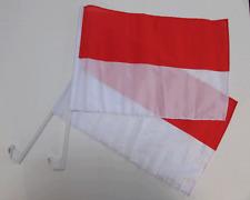 MONACO CAR WINDOW FLAG - 2 PACK NEW