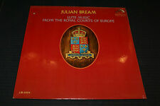 JULIAN BREAM lute music from the royal courts of europe LP SEALED! LM-2924 Mono