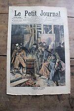 Petit journal illustré N°848 1907 Hiver à Paris Brasero Chasse tigre Indochine