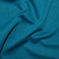 Teal Blue Ponte Roma Fabric Jersey Material 150cm wide Dress Skirts Tops Fashion