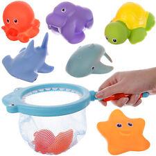 Baby Badespielzeug Gummitiere Spielzeug Badewanne Wasserspielzeugset 11474