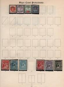 NIGER COAST PROTECTORATE: Used/Unused Ex-Old Time Collection - Page (36911)