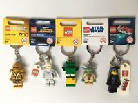 Lego Keyrings - Star Wars - Super Heroes - Ninjago - Movie - Dragon - You Choose