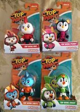 PLAYSKOOL NICK JR TOP WING COMPLETE SET (4) ROD,PENNY,SWIFT,BRODY NEW SHIPS FAST