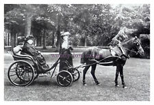 mm460 - Queen Victoria in her carriage - photograph 6x4