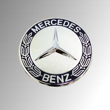 ORIGINALE Mercedes AMG STELLA EMBLEMA Logo Autoadesivo Alloro Blu 3d Adesivo