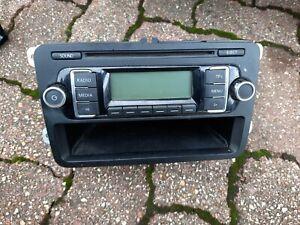 GENUINE VOLKSWAGEN POLO 6R RADIO CD PLAYER HEAD UNIT 5M0035156B