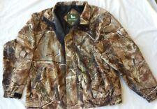 Field & Stream Men's Field Jacket Size XL Realtree Camo Light Hunting EUC