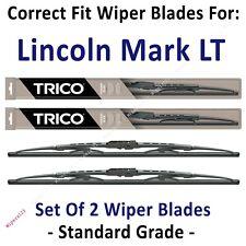 Wiper Blades 2-Pack Standard - fit 2006-2008 Lincoln Mark LT - 30200x2