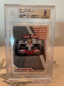 2008 Lewis Hamilton SI For Kids #360 TRUE ROOKIE - UBER RARE BGS 8!!