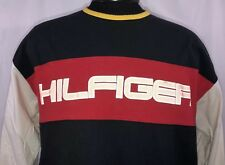 VTG Tommy Hilfiger T Shirt 90s Big Logo Flag Spell Out Tee Jeans Sport XL