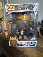 Funko Pop! Rocks: 10� Notorious B.I.G With Crown Funko Shop Exclusive In Hand