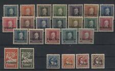 Occupazione Austriaca del Friuli 1918 3 serie cpl nuove linguellate N1417