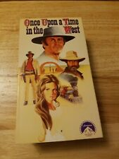 Once Upon a Time In The West Vhs Set