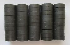 50 Craft Hobby 3/4 Inch Diameter Ceramic Disc Magnets, Some Dinged, See Photos
