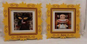 Paul Frank Mika Cat & Julius Monkey Soft-Sculpture Box Wall Art The Land Of Nod