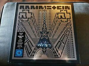 RAMMSTEIN LIVE PARIS 4er Vinyl DELUXE BOX CD Blueray Top Erhalt LP´s neuwertig