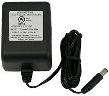 110-120 Volt AC to 18 Volt AC Output Class 2 Transformer Adapter Power Supply