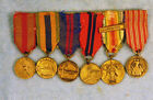 RARE USMC officer's miniature medals group: 1920s-30s Caribbean Expeditions!