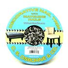 C.S. Osborne 10 Yards Nickel Finish Decorative Nail Trim 6510-N