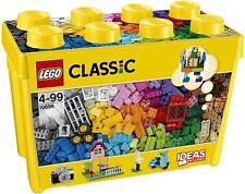 LEGO Classic - Caja de ladrillos creativos grande, Set de Construcción con ladri