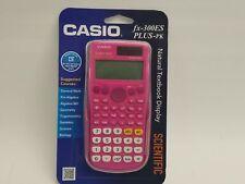 New Casio fx-300ES PLUS-PK Scientific Calculator-Pink