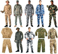 BDU Cargo Pants OR Shirt Camouflage Tactical Military Combat Uniform Rothco