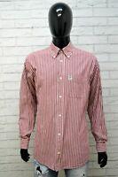 MURPHY & NYE Camicia Uomo Taglia XL Maglia Camicetta Shirt Hemd Righe Cotone