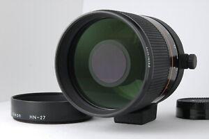 [MINT] Nikon New Reflex Nikkor 500mm F/8 Telephoto Mirror Lens from JAPAN D65