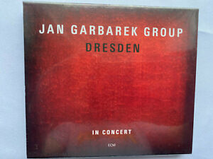 Jan Garbarek Group – Dresden (In Concert)  ECM Double CD album (new & sealed)