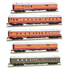 N Scale - MICRO-TRAINS 993 01 720 SSW - COTTON BELT 5 Car Hwt Passenger Car Set