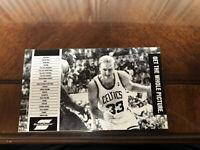 1989-90 Boston Celtics Basketball Hartford Whalers Hockey TV Schedule Larry Bird