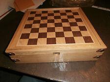 NOS Sealed Marlboro Advertising Promo Wooden Checkers Poker Backgammon Game Set