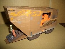 STAR WARS ACTION FLEET RARE MICRO MACHINES LOOSE SANDCRAWLER IN MINT CONDITION.