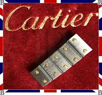 Genuine Cartier Santos Gold & Steel Strap Bracelet 5 x Links 12 mm