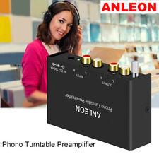 ANLEON Mini Stereo Phono Preamp Preamplifier Technica Jensen Crosley Amplifier