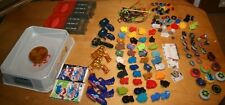 LOT OF TOMY BEYBLADE SPINNERS LAUNCHERS GUN STADIUM AND MORE ACCESSORIES