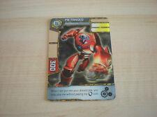 Carte Redakai Metanoid Red Machine !!!