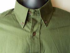Croft & Barrow  Long Sleeve Button Down Collar  Shirt Green Small NWT NEW
