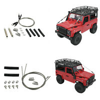 For RC Crawler MN90 MN90K 1:12 RC Car Parts Pull Steel Wire Drawstring Car Parts