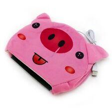 USB Laptop Soft Warm Cute Cartoon Pig Opitical Mouse Pad Mouse Mice Mat Mousepad