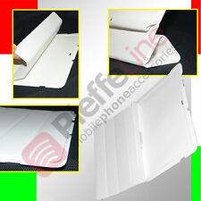 custodia eco PELLE BIANCA ULTRA SLIM per SAMSUNG P5100 P5110 GALAXY TAB 2 10.1