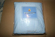 Tiddliwinks Travel Twin Bed Skirt Dust Ruffle Blue Plaid