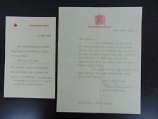 *RARE* Wedding of King George VI and Lady Elizabeth Bowes-Lyon (2)Correspondance