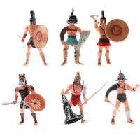 6PCs Ancient Military Playset Plastic Mini Soldier Army Men Figures Kids Toy