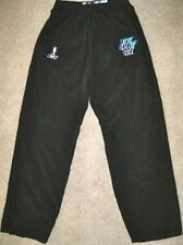 NBA REEBOK UTAH JAZZ GAME USED PANTS 40 JERSEY UNIFORM HARPRING #15 BREAKAWAY