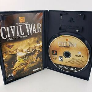 Civil War A Nation Divided PS2 Video Games