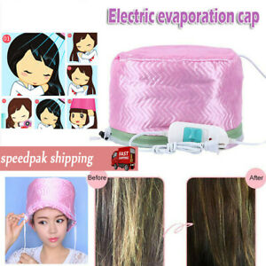 Hair Steamer Cap Dryers Electric Heating Cap Thermal Treatment Hat Beauty SPA*a