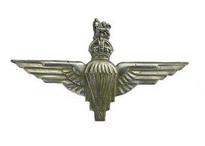 Parachute Regiment Cap Badge White Metal